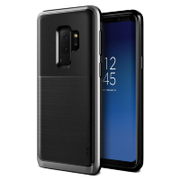 Чехол VRS Design High Pro Shield для Galaxy S9 Plus Steel Silver