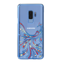Чехол с Swarovski Kingxbar Flying для Galaxy S9 Plus Blue