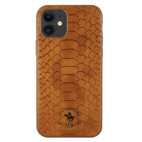 Чехол Santa Barbara Polo & Racquet Club Knight для iPhone 11 Коричневый