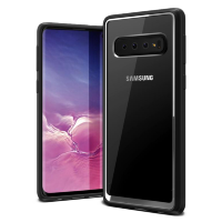 Чехол VRS Design Crystal Chrome для Galaxy S10 Black